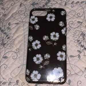 Iphone 7 plus/ 8 plus flower case